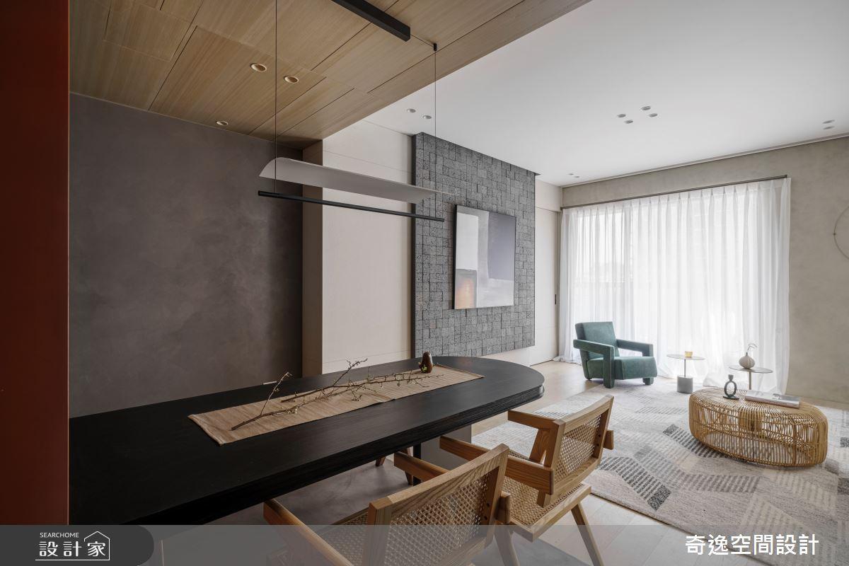 33坪新成屋(5年以下)_現代風案例圖片_奇逸空間設計_奇逸_49之4