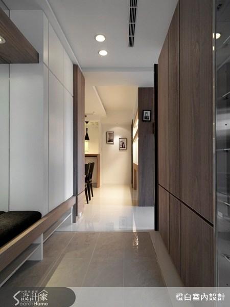 老屋(16~30年)_北歐風走廊案例圖片_橙白室內裝修設計工程有限公司_橙白_01之1