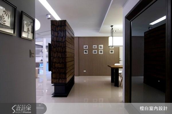 52坪新成屋(5年以下)_現代風走廊案例圖片_橙白室內裝修設計工程有限公司_橙白_05之1