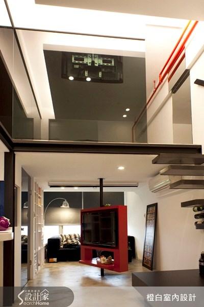 10坪新成屋(5年以下)_工業風客廳案例圖片_橙白室內裝修設計工程有限公司_橙白_08之4