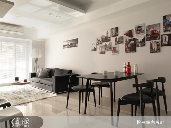 23坪新成屋(5年以下)_北歐風餐廳案例圖片_橙白室內裝修設計工程有限公司_橙白_09之7