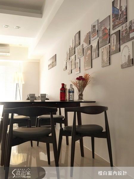 23坪新成屋(5年以下)_北歐風餐廳案例圖片_橙白室內裝修設計工程有限公司_橙白_09之8