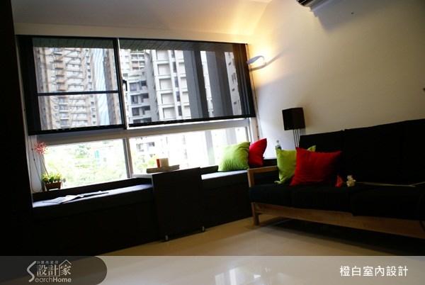29坪預售屋_現代風客廳案例圖片_橙白室內裝修設計工程有限公司_橙白_10之3