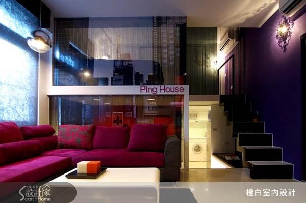 10坪新成屋(5年以下)_奢華風客廳案例圖片_橙白室內裝修設計工程有限公司_橙白_13之1
