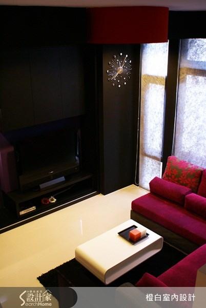 10坪新成屋(5年以下)_奢華風客廳案例圖片_橙白室內裝修設計工程有限公司_橙白_13之12