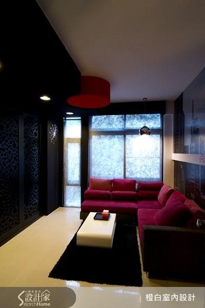 10坪新成屋(5年以下)_奢華風客廳案例圖片_橙白室內裝修設計工程有限公司_橙白_13之7