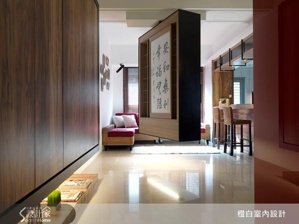 27坪新成屋(5年以下)_休閒風走廊案例圖片_橙白室內裝修設計工程有限公司_橙白_11之2
