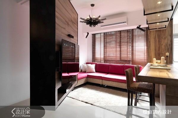 27坪新成屋(5年以下)_休閒風客廳案例圖片_橙白室內裝修設計工程有限公司_橙白_11之5