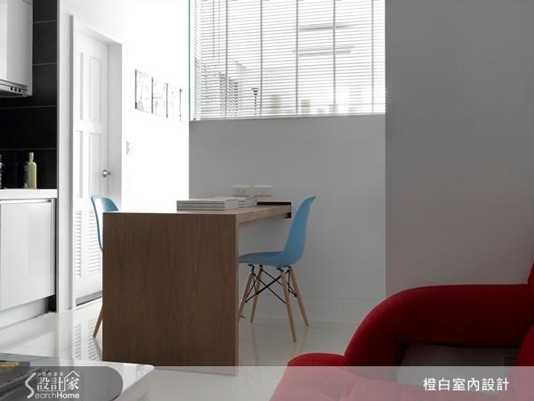 12坪新成屋(5年以下)_現代風客廳案例圖片_橙白室內裝修設計工程有限公司_橙白_16之4