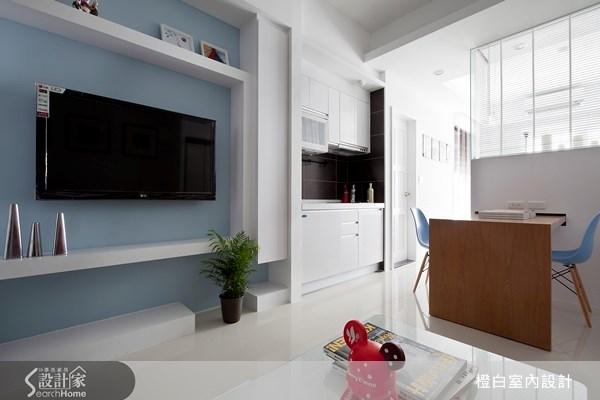 12坪新成屋(5年以下)_現代風客廳案例圖片_橙白室內裝修設計工程有限公司_橙白_16之2