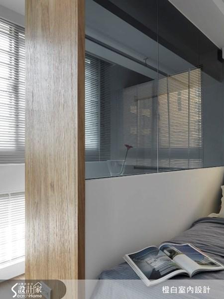 17坪新成屋(5年以下)_北歐風臥室案例圖片_橙白室內裝修設計工程有限公司_橙白_17之17
