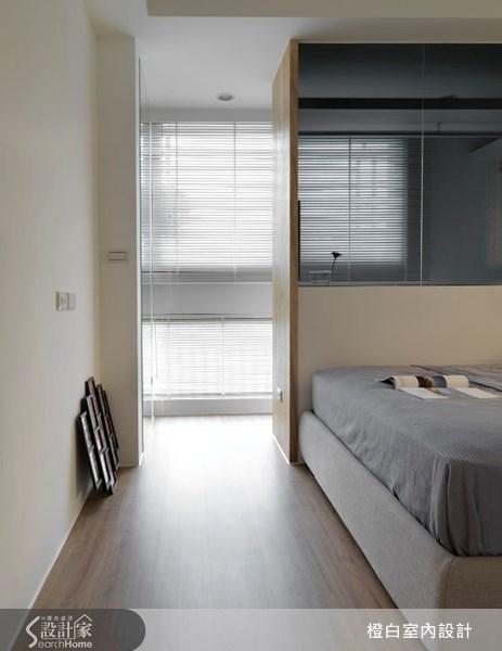 17坪新成屋(5年以下)_北歐風臥室案例圖片_橙白室內裝修設計工程有限公司_橙白_17之21