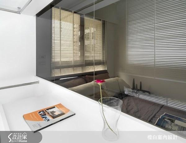 17坪新成屋(5年以下)_北歐風臥室案例圖片_橙白室內裝修設計工程有限公司_橙白_17之22