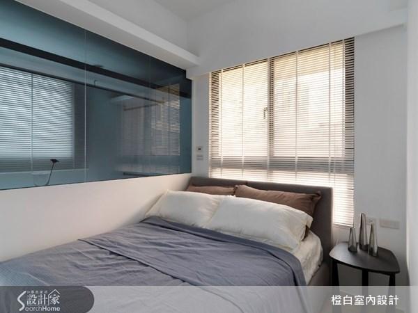 17坪新成屋(5年以下)_北歐風臥室案例圖片_橙白室內裝修設計工程有限公司_橙白_17之18