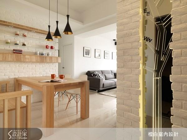 18坪新成屋(5年以下)_北歐風餐廳案例圖片_橙白室內裝修設計工程有限公司_橙白_18之1
