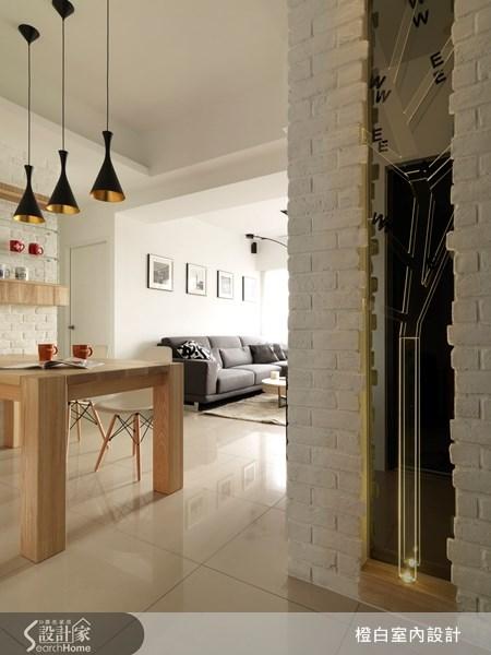 18坪新成屋(5年以下)_北歐風餐廳案例圖片_橙白室內裝修設計工程有限公司_橙白_18之2