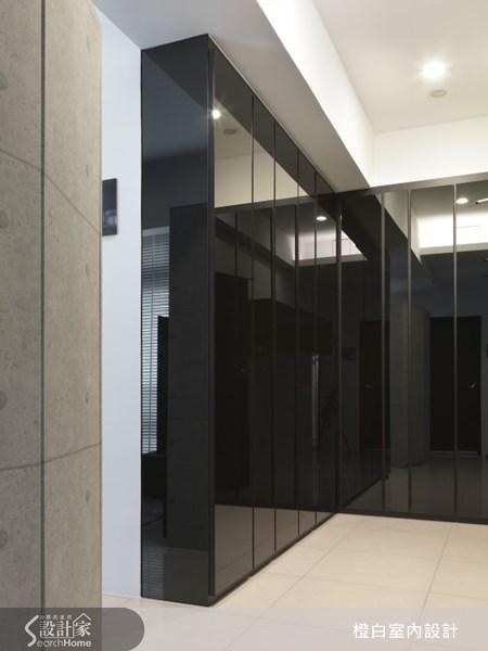 18坪新成屋(5年以下)_現代風玄關案例圖片_橙白室內裝修設計工程有限公司_橙白_19之4