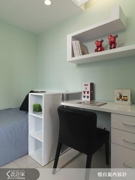 18坪新成屋(5年以下)_現代風臥室案例圖片_橙白室內裝修設計工程有限公司_橙白_19之1