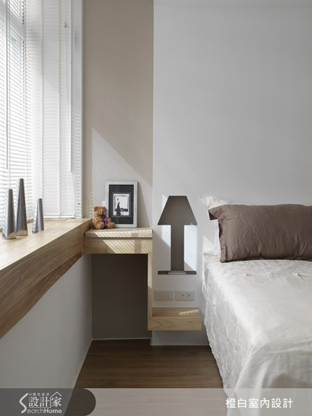 22坪老屋(16~30年)_北歐風臥室案例圖片_橙白室內裝修設計工程有限公司_橙白_20之1