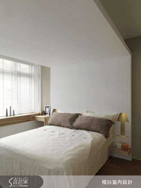 22坪老屋(16~30年)_北歐風臥室案例圖片_橙白室內裝修設計工程有限公司_橙白_20之2
