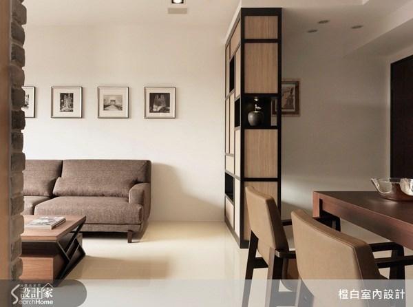 20坪新成屋(5年以下)_混搭風客廳案例圖片_橙白室內裝修設計工程有限公司_橙白_25之1