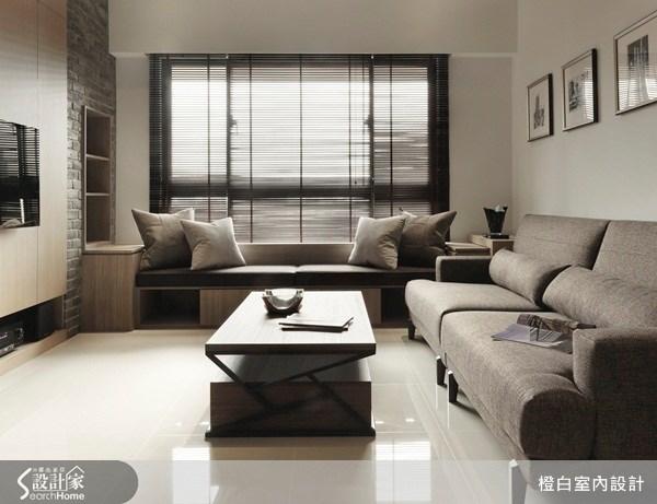 20坪新成屋(5年以下)_混搭風客廳案例圖片_橙白室內裝修設計工程有限公司_橙白_25之3