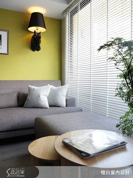 35坪老屋(16~30年)_混搭風客廳案例圖片_橙白室內裝修設計工程有限公司_橙白_27之3