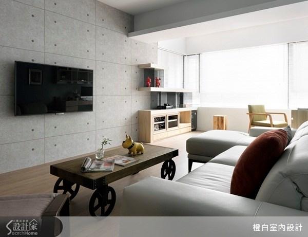 37坪中古屋(5~15年)_現代風客廳案例圖片_橙白室內裝修設計工程有限公司_橙白_30之2