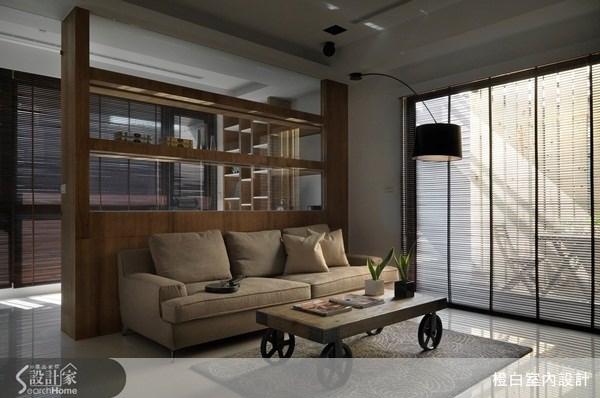 30坪新成屋(5年以下)_現代風客廳案例圖片_橙白室內裝修設計工程有限公司_橙白_32之2