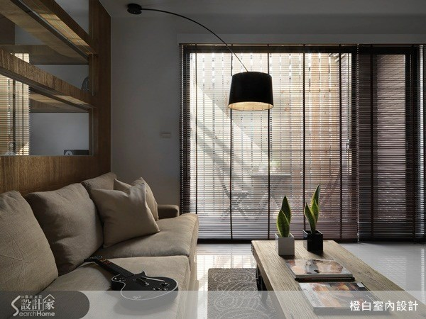 30坪新成屋(5年以下)_現代風客廳案例圖片_橙白室內裝修設計工程有限公司_橙白_32之3