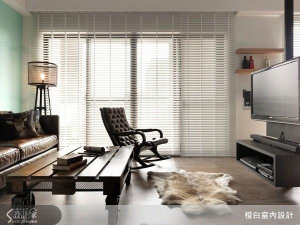 38坪新成屋(5年以下)_北歐風客廳案例圖片_橙白室內裝修設計工程有限公司_橙白_33之3