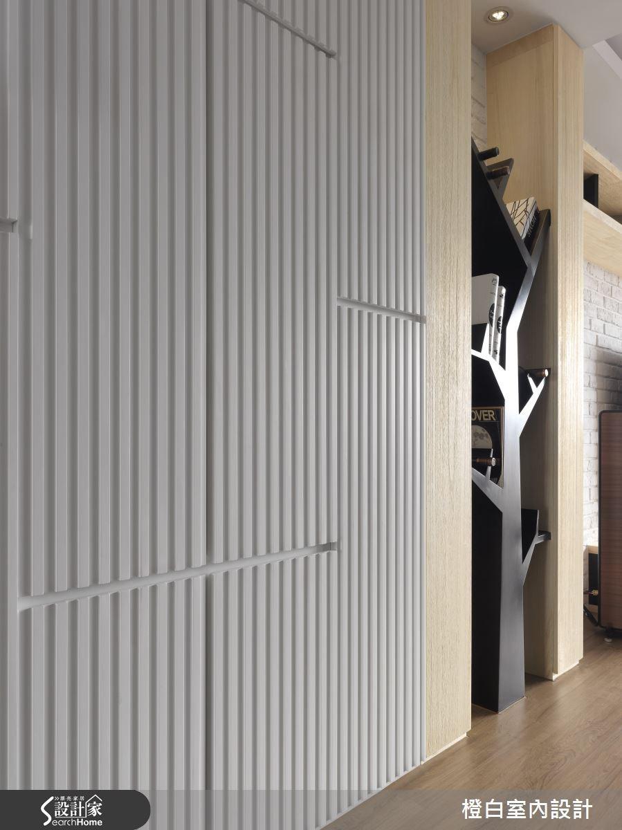 30坪新成屋(5年以下)_簡約風走廊案例圖片_橙白室內裝修設計工程有限公司_橙白_36之3
