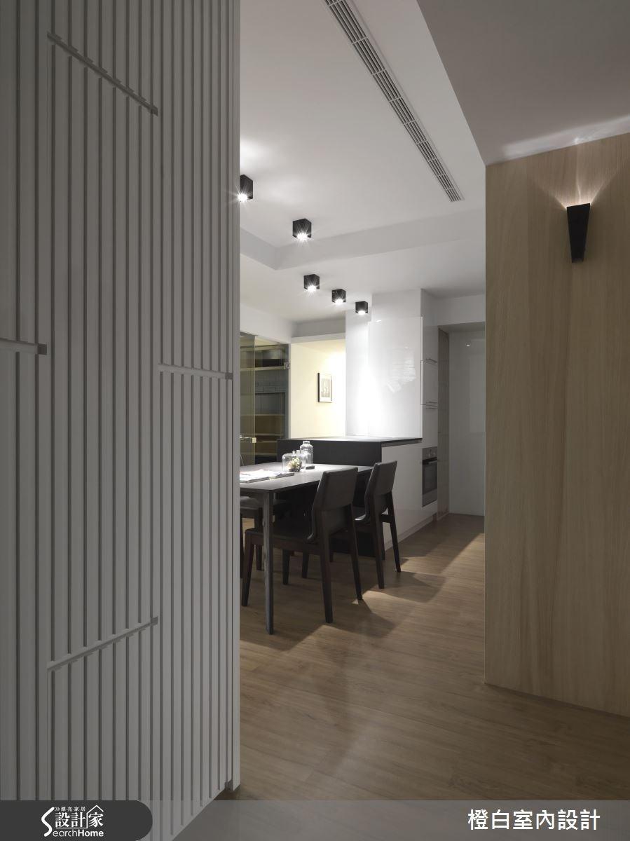30坪新成屋(5年以下)_簡約風走廊案例圖片_橙白室內裝修設計工程有限公司_橙白_36之4