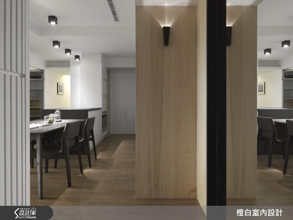 30坪新成屋(5年以下)_簡約風走廊案例圖片_橙白室內裝修設計工程有限公司_橙白_36之5
