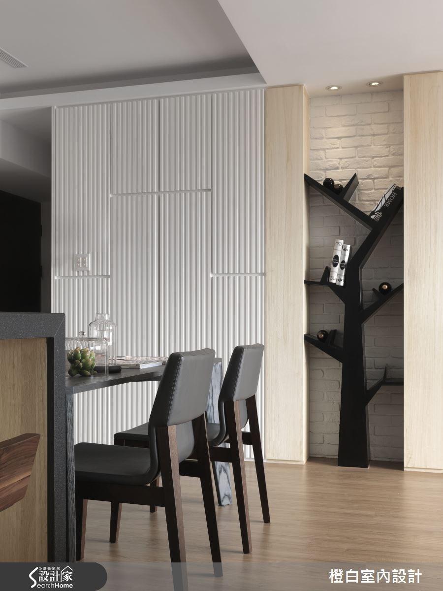 30坪新成屋(5年以下)_簡約風餐廳案例圖片_橙白室內裝修設計工程有限公司_橙白_36之6