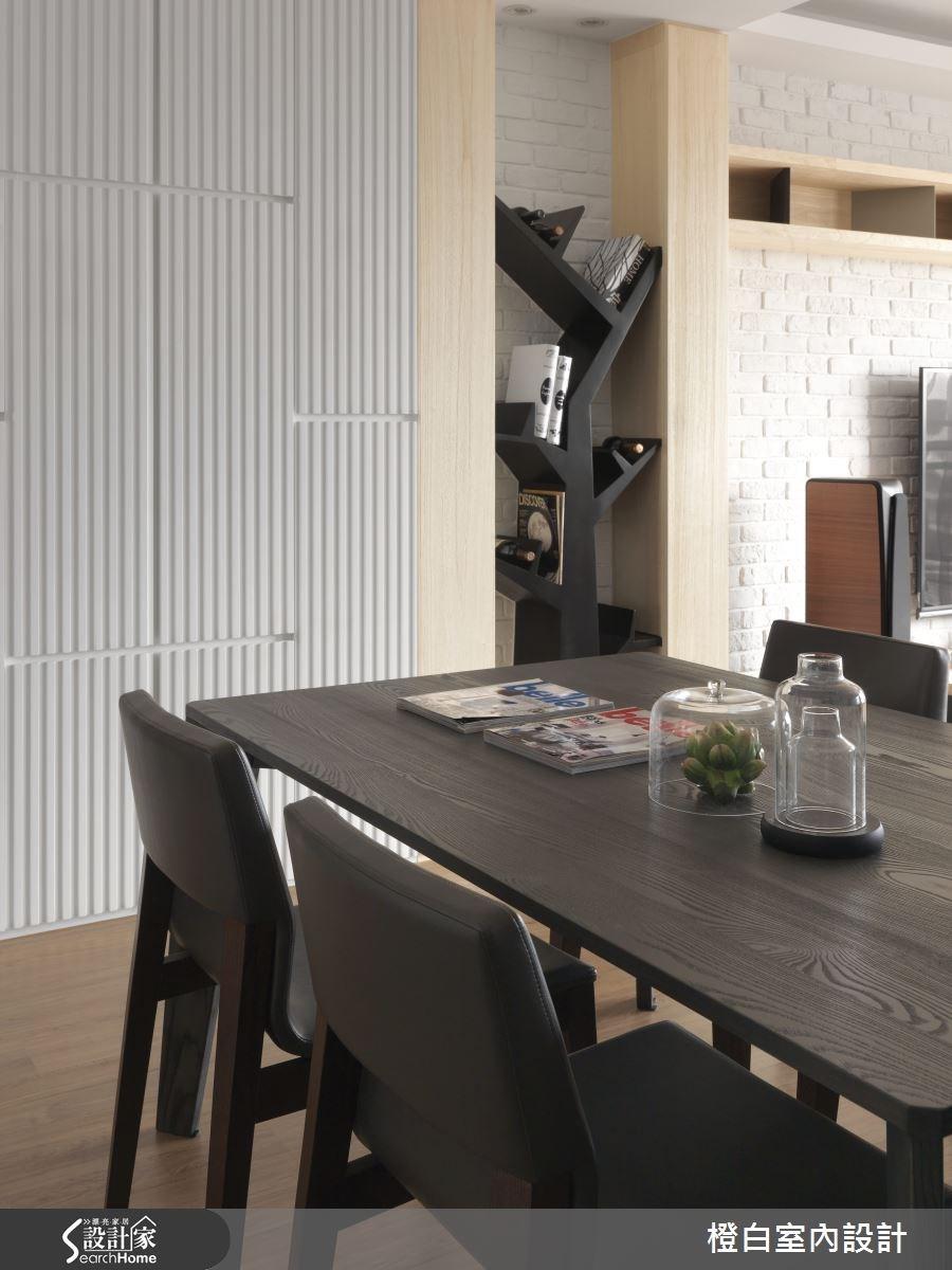 30坪新成屋(5年以下)_簡約風餐廳案例圖片_橙白室內裝修設計工程有限公司_橙白_36之7