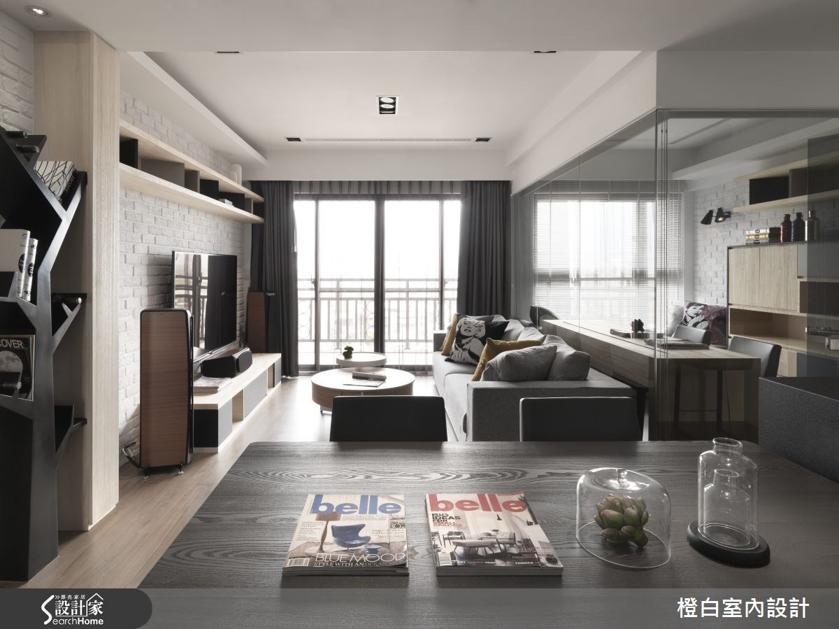 30坪新成屋(5年以下)_簡約風餐廳案例圖片_橙白室內裝修設計工程有限公司_橙白_36之8