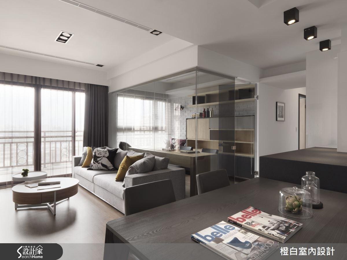 30坪新成屋(5年以下)_簡約風餐廳案例圖片_橙白室內裝修設計工程有限公司_橙白_36之12