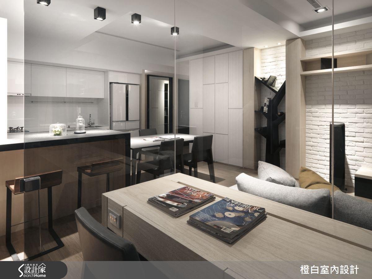30坪新成屋(5年以下)_簡約風書房案例圖片_橙白室內裝修設計工程有限公司_橙白_36之21