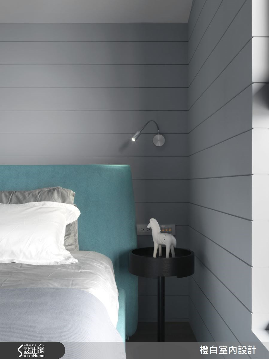 30坪新成屋(5年以下)_簡約風臥室案例圖片_橙白室內裝修設計工程有限公司_橙白_36之24