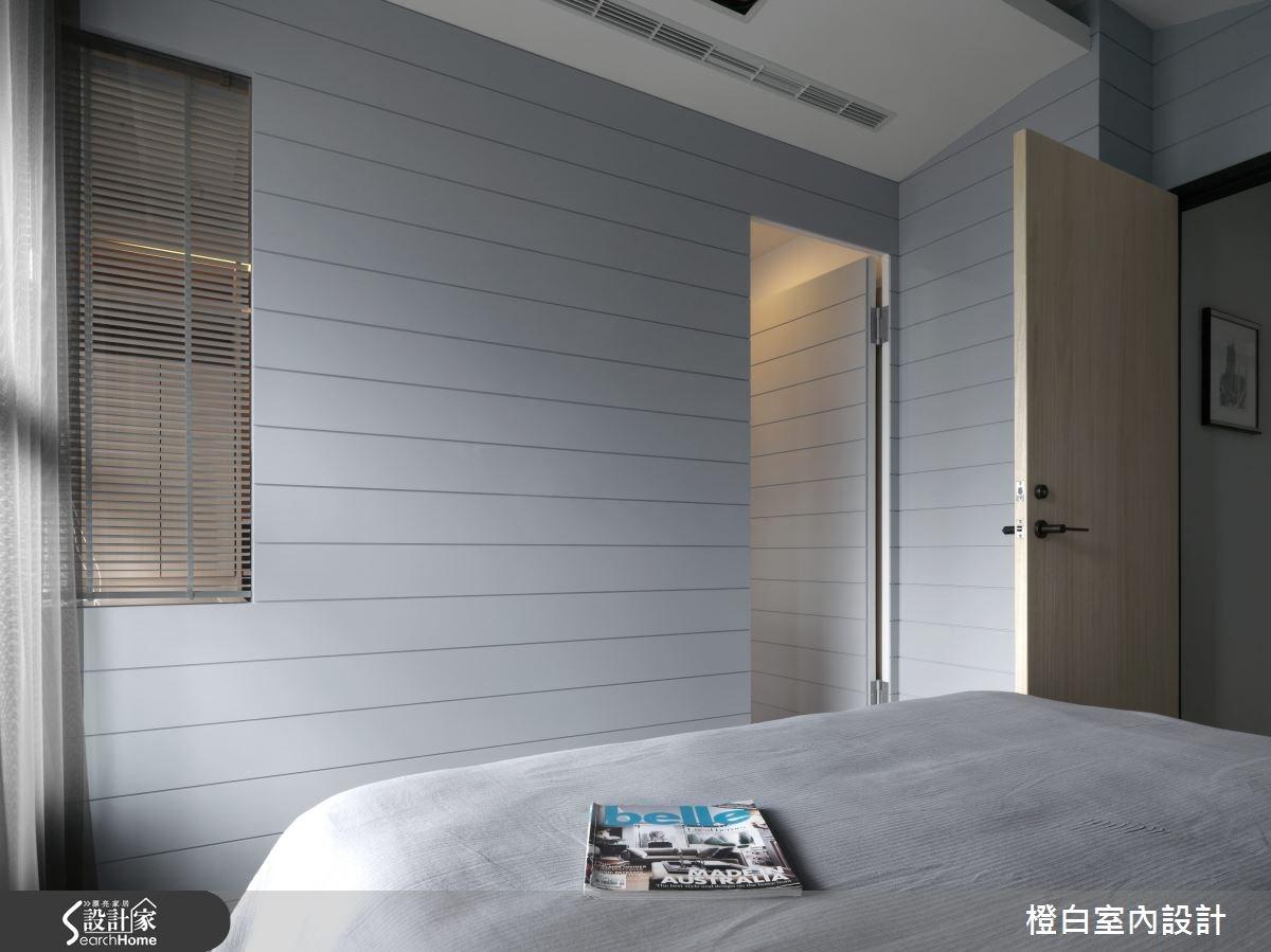 30坪新成屋(5年以下)_簡約風臥室案例圖片_橙白室內裝修設計工程有限公司_橙白_36之27