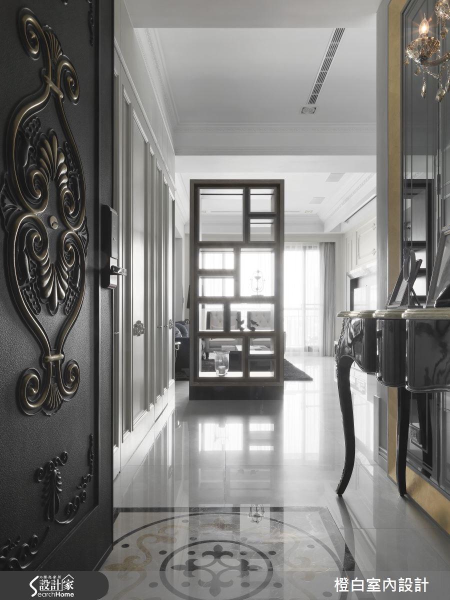 35坪新成屋(5年以下)_混搭風走廊案例圖片_橙白室內裝修設計工程有限公司_橙白_37之1