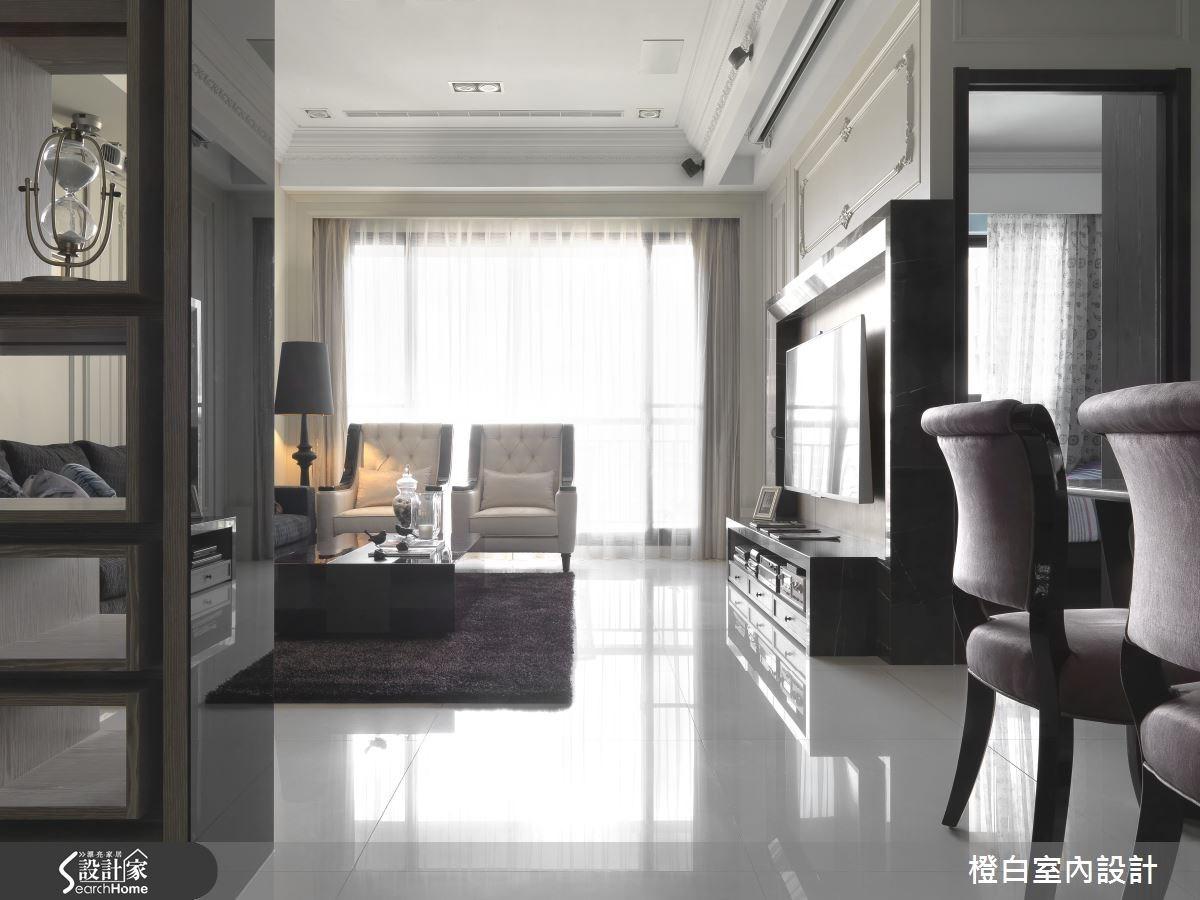 35坪新成屋(5年以下)_混搭風走廊案例圖片_橙白室內裝修設計工程有限公司_橙白_37之6