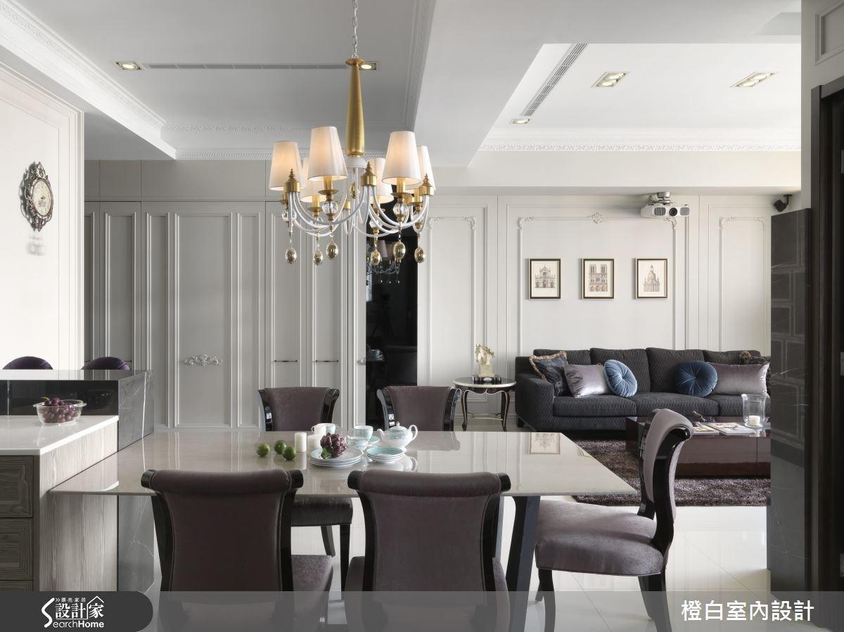 35坪新成屋(5年以下)_混搭風餐廳案例圖片_橙白室內裝修設計工程有限公司_橙白_37之10