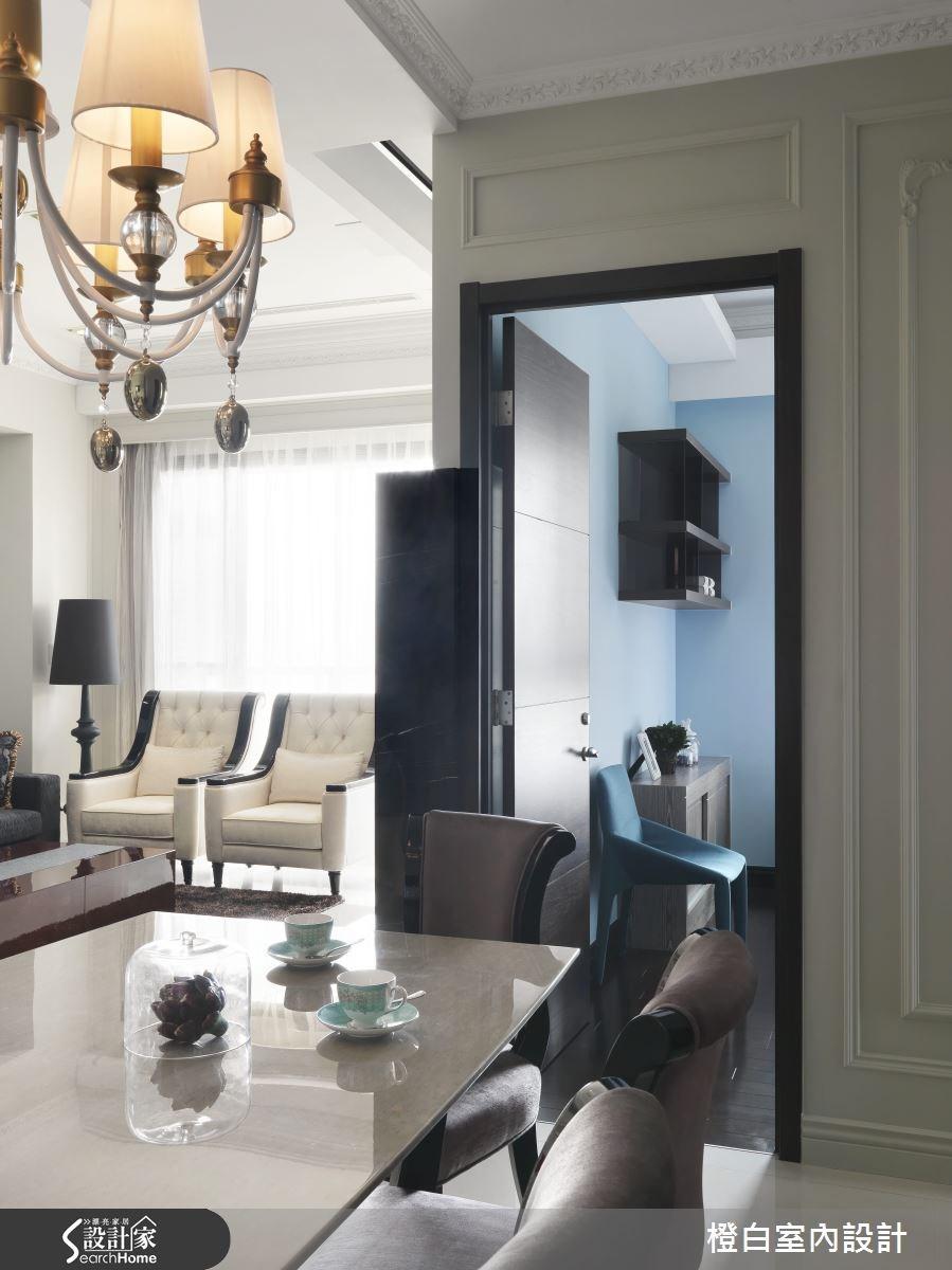35坪新成屋(5年以下)_混搭風餐廳案例圖片_橙白室內裝修設計工程有限公司_橙白_37之15