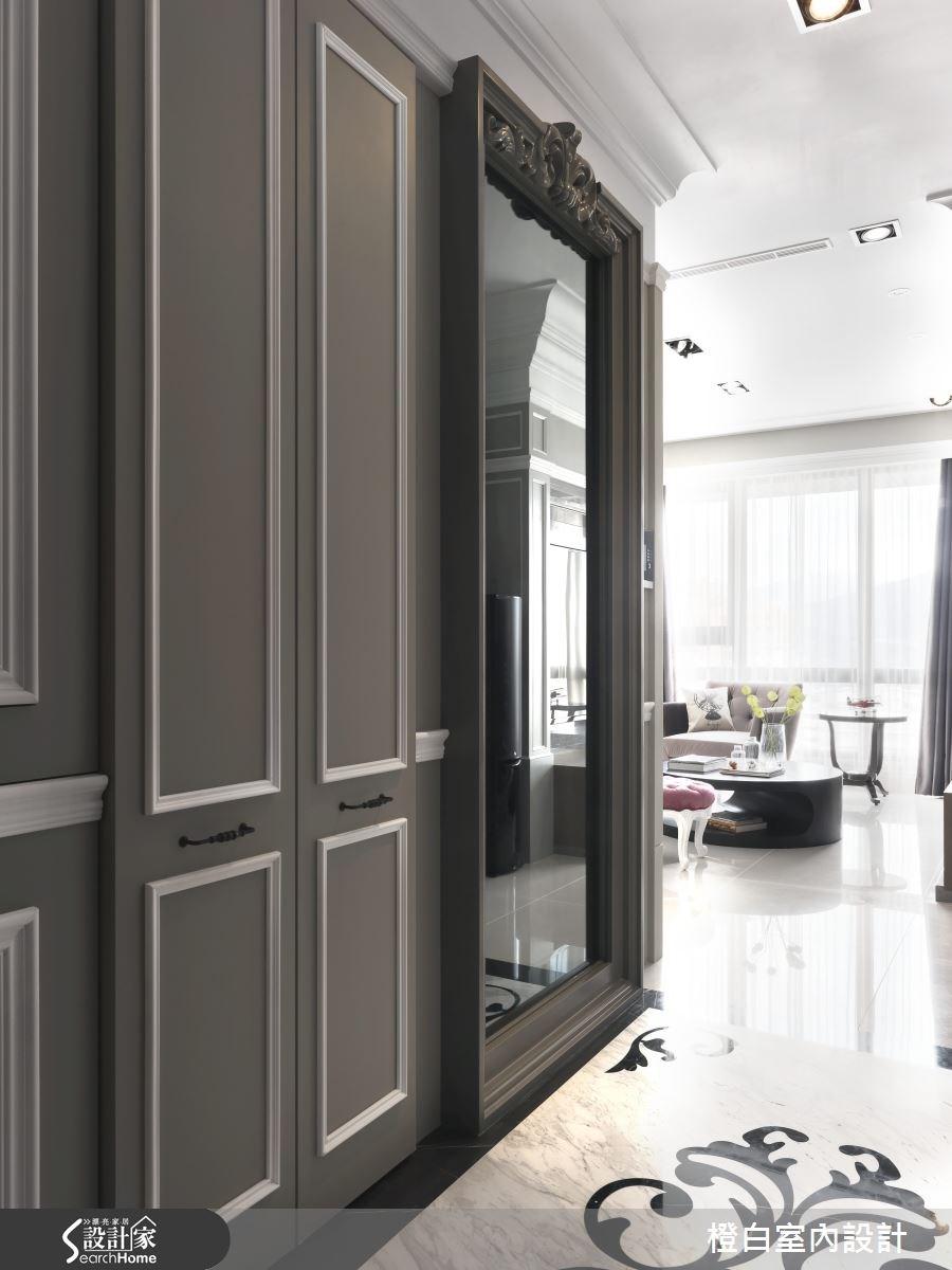 35坪新成屋(5年以下)_新古典案例圖片_橙白室內裝修設計工程有限公司_橙白_39之2