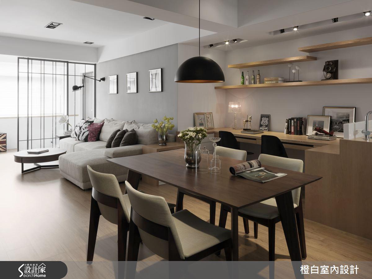 打造 34 坪老屋的素淨妝容 重展活力新面貌