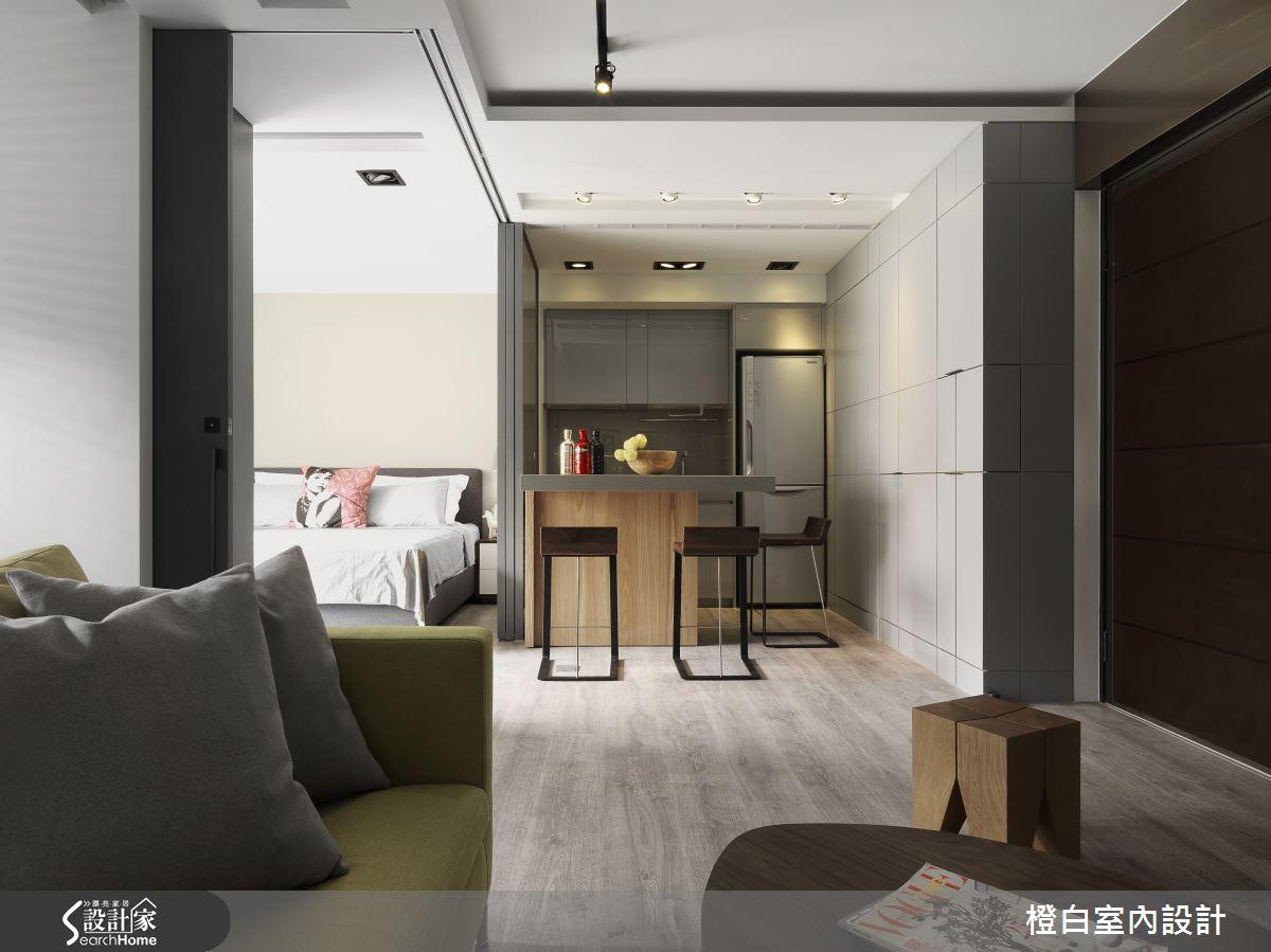 13 坪老屋 化身飯店式簡約性格套房