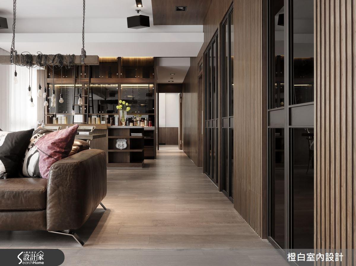 45坪新成屋(5年以下)_現代風走廊案例圖片_橙白室內裝修設計工程有限公司_橙白_50之3