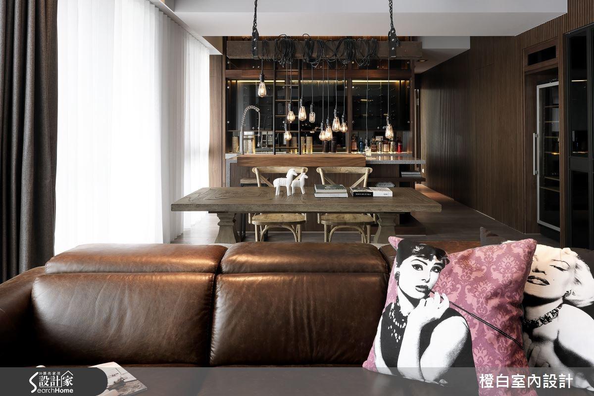 45坪新成屋(5年以下)_現代風客廳案例圖片_橙白室內裝修設計工程有限公司_橙白_50之4